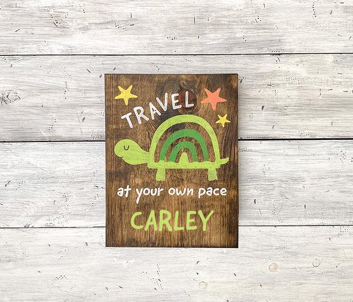 Travel Turtle - 12x14