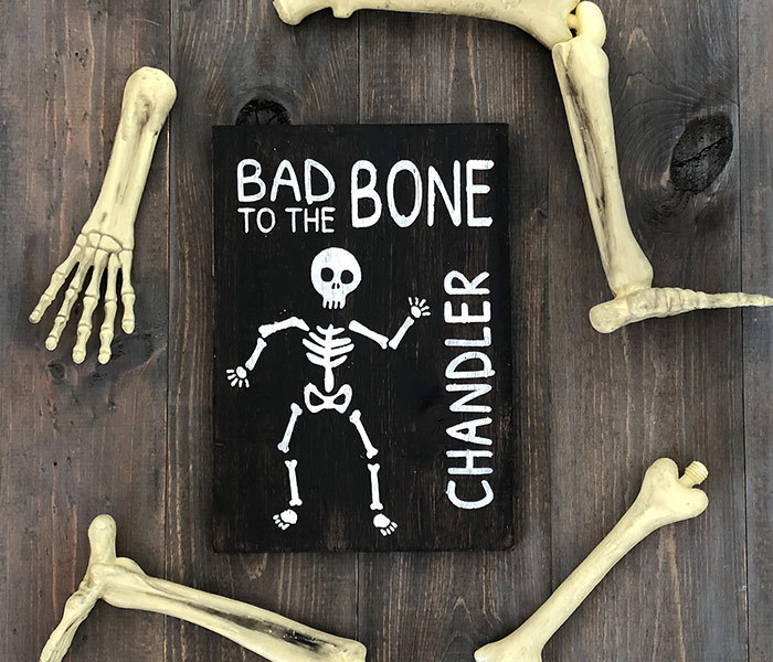 Bad to the Bone - 12x14