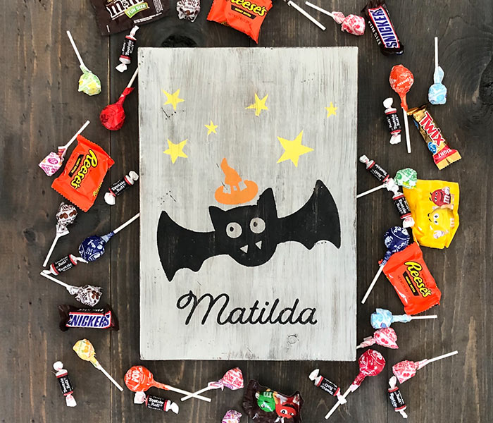 Starry Bat - 12x14
