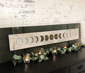 Moon Phases Longboard - 8x48