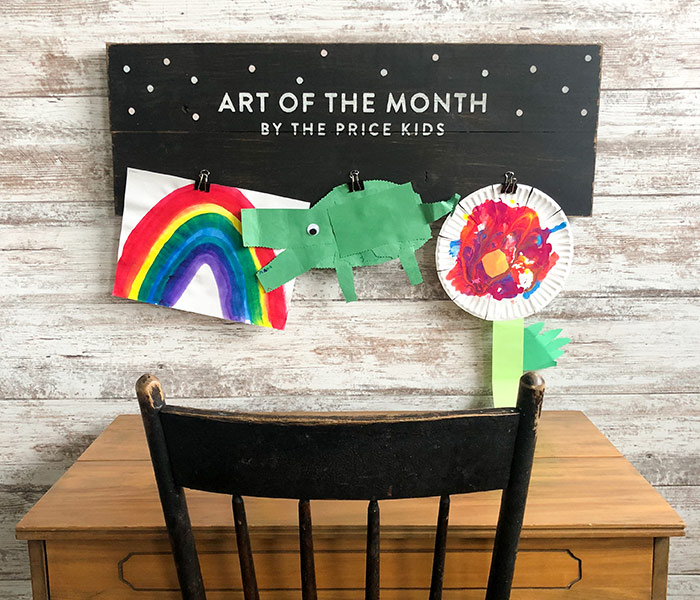 Art of the Month - 12x32 Wood Sign