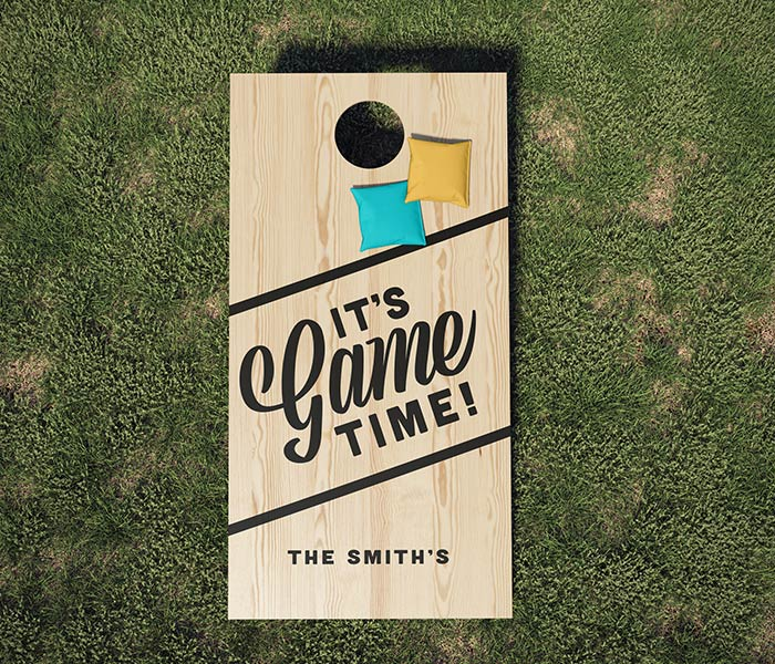 It's Game Time - 24x48 Outdoor Cornhole Game