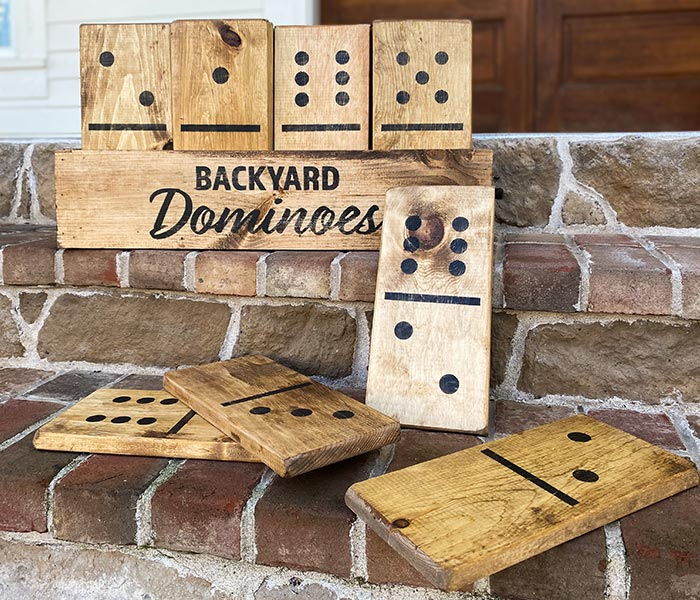 Backyard Dominoes