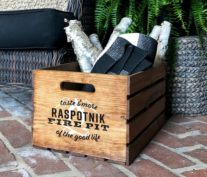 Fire Pit Crate