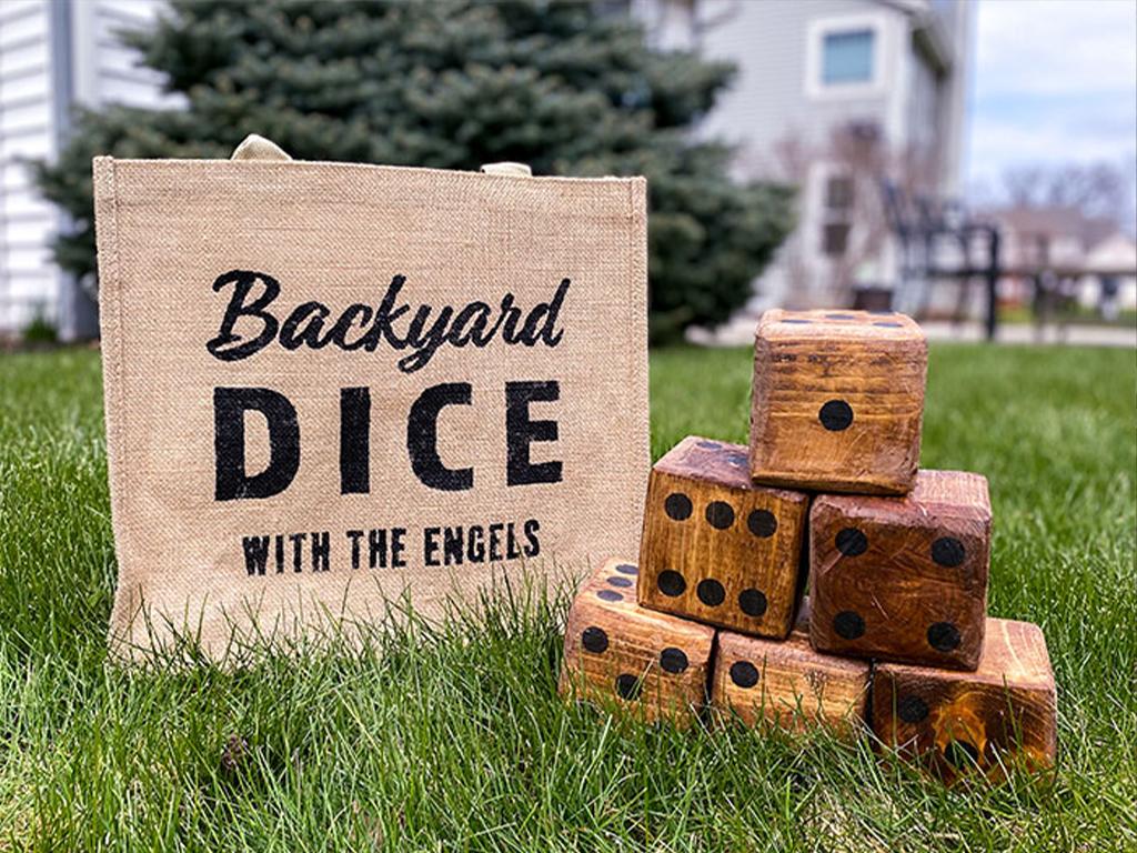 Backyard Dice Staged