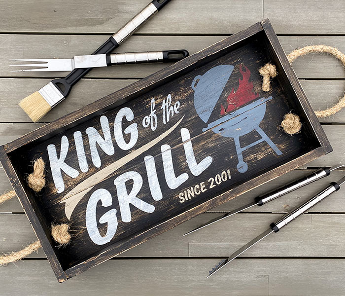 King of the Grill Tray 14x26