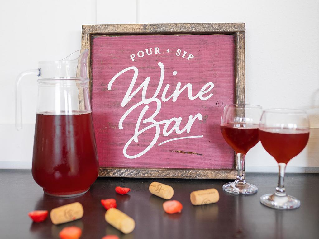 Sangria Wine Bag Staged
