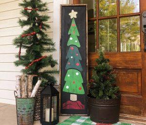 Christmas Tree Porch - 14x50