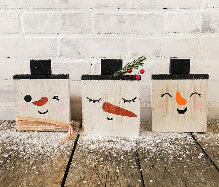 Snowman Faces 1