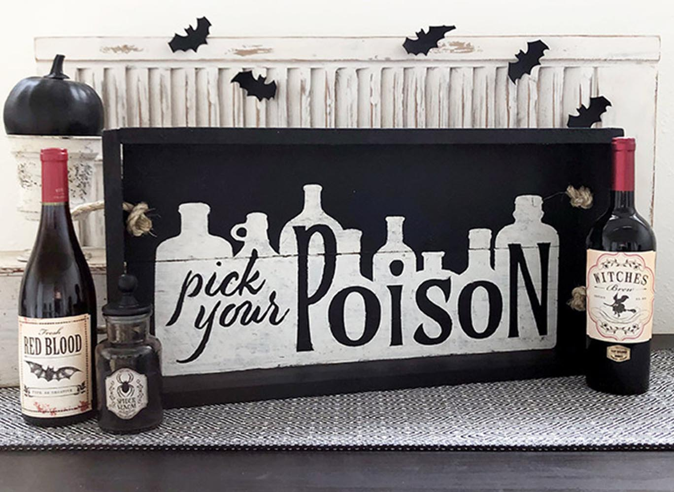 Pick Your Poison Tray