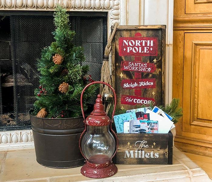 North Pole Small Planter - 12x26