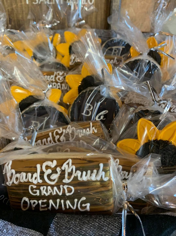 Oceanside Grand Opening Cookies