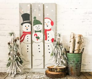 Snowman Trio - 6x32