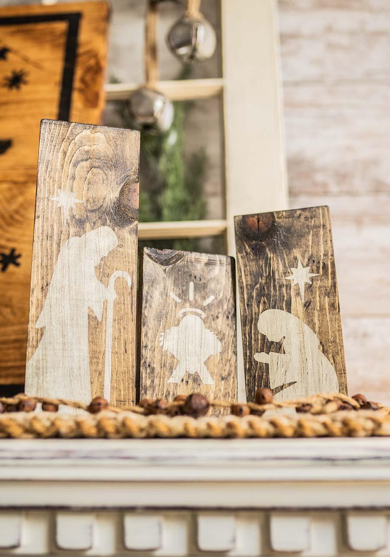Nativity Trio Staged