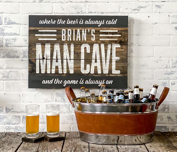 Man Cave - 20x24