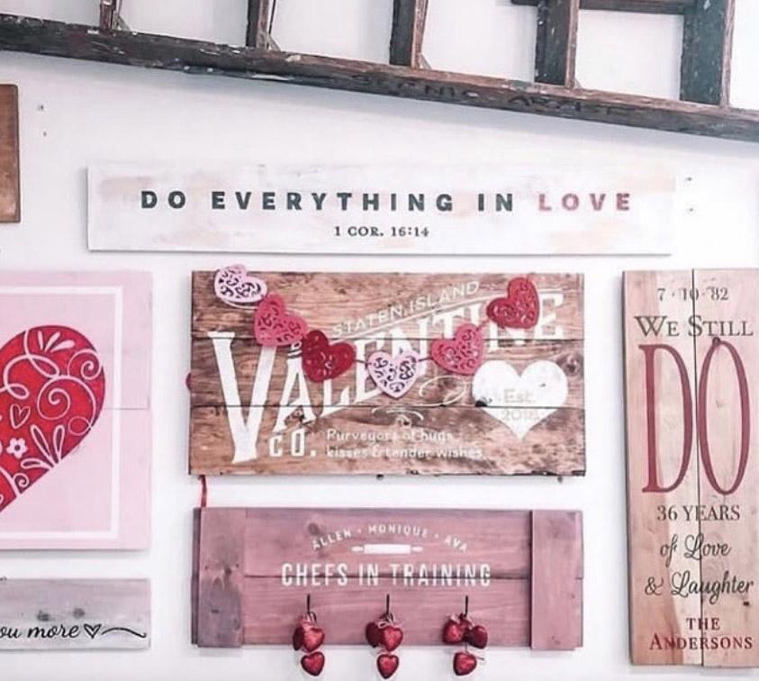 Valentine's Display
