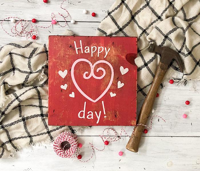 Happy Heart Day - 12x12