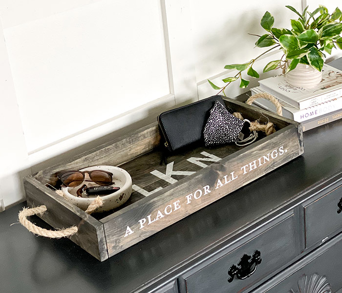 A Place for All Things Tray - 14x26