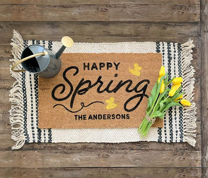 Happy Spring Bee Doormat
