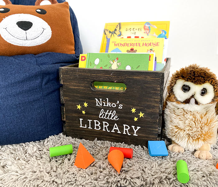 Little Library Crate