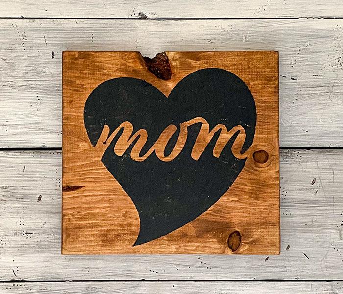 Mom Heart - 12x12