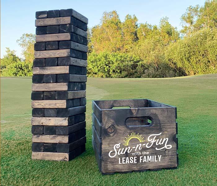 Sun-n-Fun Tower Crate