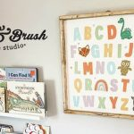 Children's Room Refresh With Board & Brush