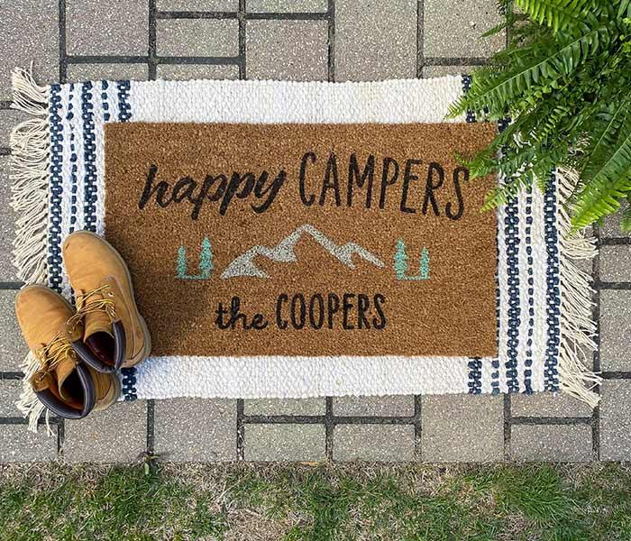 Happy Campers - 18x30 Doormat