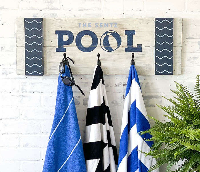 Family Pool Rack - 12x32