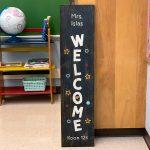 Welcome Classroom - 12x48