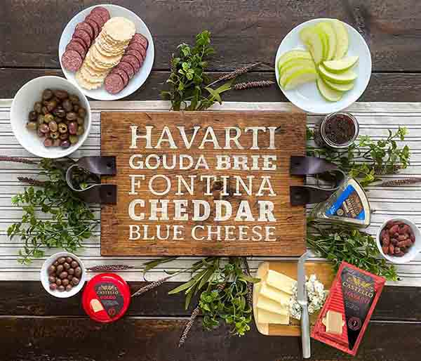 CASTELLO® Cheese DIY Wood Cheeseboard and Charcuterie