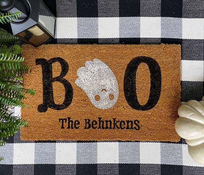 Boo Ghost Doormat