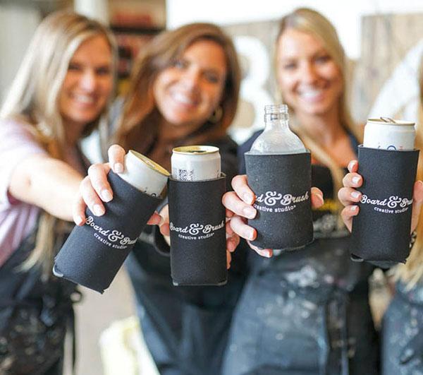 Girls Cheers at DIY Workshop