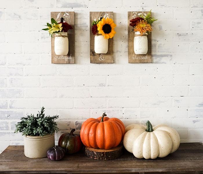Fall Grateful & Blessed Trio