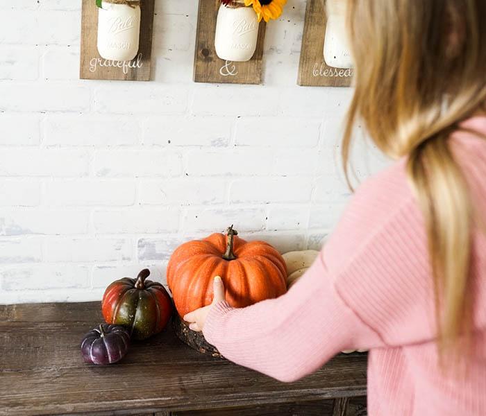 Staging Pumpkins