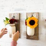 Fall Decorating Guide: DIY Mason Jar Trios